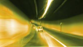 Żółta błyskawica i ruchliwie droga zdjęcie wideo