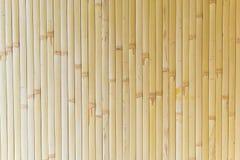 żółta bambusowa tekstura Zdjęcie Stock