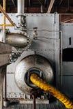 Żółta Elastyczna drymba Zaniechanego Indiana wojska Amunicyjna zajezdnia - Indiana - elektrownia - obrazy stock