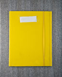 Żółta falcówka Zdjęcia Royalty Free