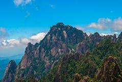 Żółta góra w Anhui, Chiny Zdjęcia Stock