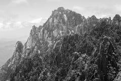 Żółta góra w Anhui, Chiny Obrazy Stock