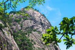 Żółta góra w Anhui, Chiny Zdjęcie Royalty Free