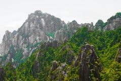 Żółta góra w Anhui, Chiny Obrazy Royalty Free
