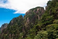 Żółta góra w Anhui, Chiny Zdjęcia Royalty Free