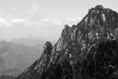 Żółta góra w Anhui, Chiny Obraz Stock
