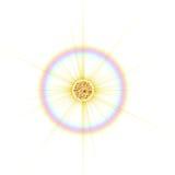 Żółta gwiazda ilustracji