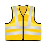 Żółta kamizelka Zdjęcia Stock