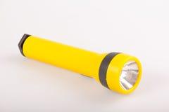 Żółta pochodnia fotografia stock