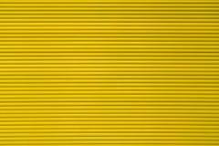 Żółta rolkowa żaluzja dla tło obrazy royalty free