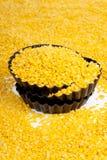 Żółta soczewica Zdjęcia Stock