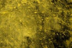 Żółta stara kurenda drapał materialną teksturę - śliczny abstrakcjonistyczny fotografii tło obrazy stock
