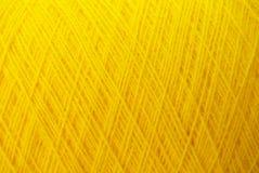żółte nici Obrazy Stock