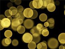 Żółtego bąbla tła tekstury wektorowy wzór dla prezentacji lub strony internetowej tła obrazy stock