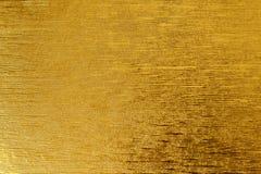 Żółtego liścia złocista folia textured tło stosownego dla jakaś projekta obraz royalty free