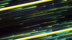 Żółtej lampas linii zabawy instagram nowożytnej ogólnospołecznej medialnej retro dyskoteki neonowy przyszłościowy tło Ideał dla ż zbiory