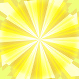 Żółty światło słoneczne Obrazy Stock