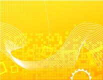 Żółty abstrakcyjne tło Obraz Stock