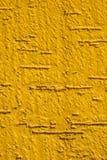 Żółty betonu Obraz Stock