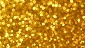 Żółty bożych narodzeń lub nowego roku tło zbiory wideo