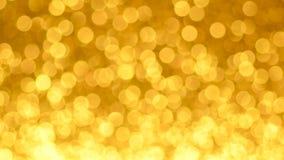 Żółty bożych narodzeń lub nowego roku tło zdjęcie wideo