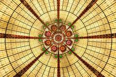 Żółty chandalier abstrakcyjne Obraz Royalty Free