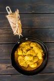 Żółty curry'ego kurczak zdjęcia royalty free