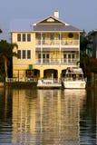 Żółty dom Obraz Royalty Free