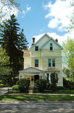 Żółty dom Fotografia Stock