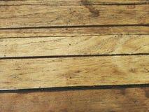 Żółty drewno Zdjęcie Stock