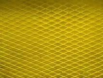 Żółty fechtunka drutu wzoru tło Fotografia Royalty Free