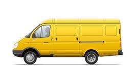 Żółty handlowy transport Obraz Stock