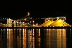 Żółty hill siarki Obraz Royalty Free