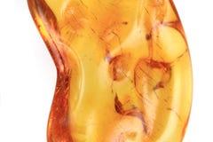 żółty jaspis odizolowywający Zdjęcia Stock