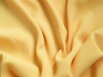 Żółty jedwab Obraz Royalty Free