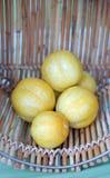 Żółty kabaczek Fotografia Royalty Free