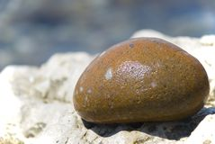 Żółty kamień Obrazy Stock