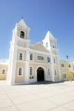 Żółty kościoła obrazy stock