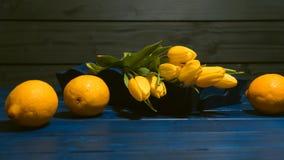 Żółty kolor fotografia stock