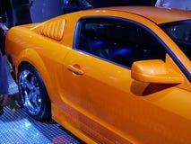 Żółty koni mechanicznych zdjęcie royalty free