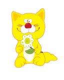 Żółty kota Obrazy Royalty Free
