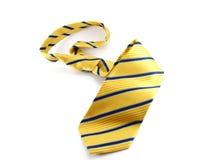 Żółty krawat Obraz Stock
