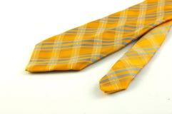 Żółty krawat szyi Zdjęcia Royalty Free