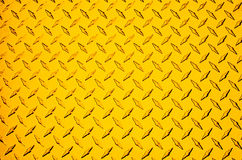 Żółty metali Zdjęcia Royalty Free