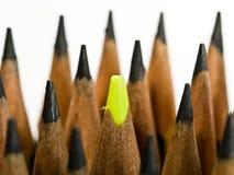 Żółty ołówkowy fluorescencyjnego Obrazy Stock