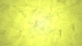 Żółty oliwny niski poligonalny tła wideo 4K w popularnym nowożytnym eleganckim 3D projekcie ilustracji