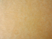 Żółty papier Obrazy Stock