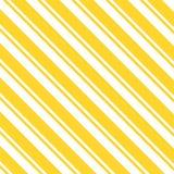 Żółty paska wzór na białym tle obraz royalty free