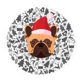 Żółty pies - Chiński zodiaka symbol nowy rok 2018 Zdjęcia Stock