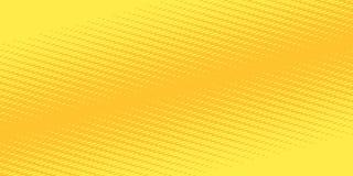 Żółty pomarańczowy halftone tło Obraz Royalty Free